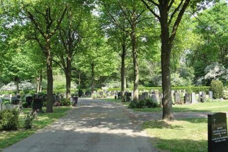 <p>Begraafplaats Hoflaan Tilburg</p>