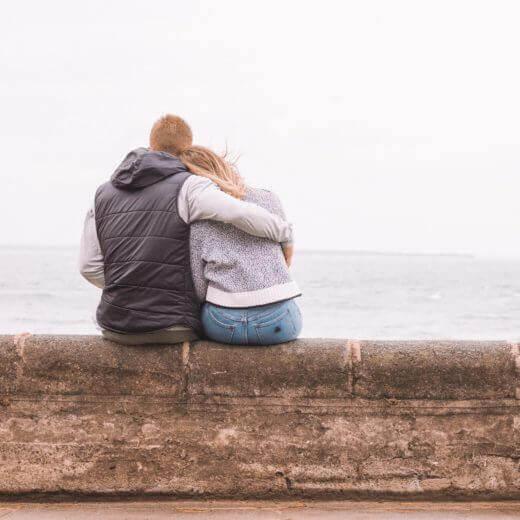 Arm om elkaar, troost tijden rouwen