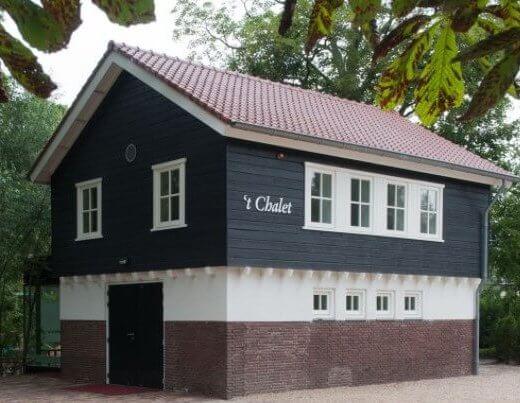 Crematorium Zorgvlied Chalet